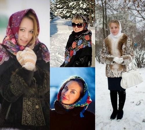 Разнообразие платков