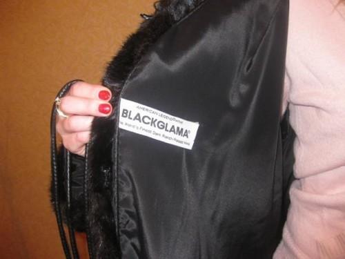 Логотип Blackglama