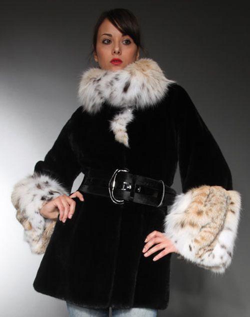 Модная отделка воротника и рукавов