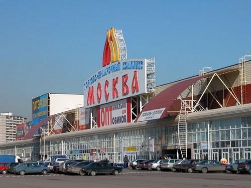 Здание ТЦ Москва