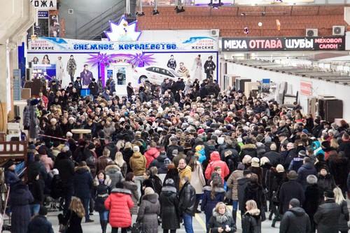 Донбасская ярмарка шуб в Воронеже