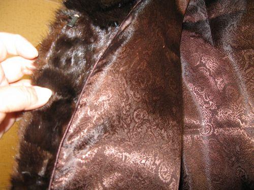 Чистка меховой подкладки