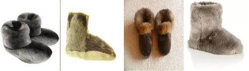 Меховые носки для детей и взрослых