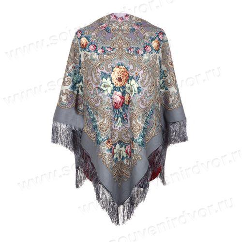 Шелковый павлопосадский платок
