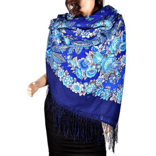 Синий платок
