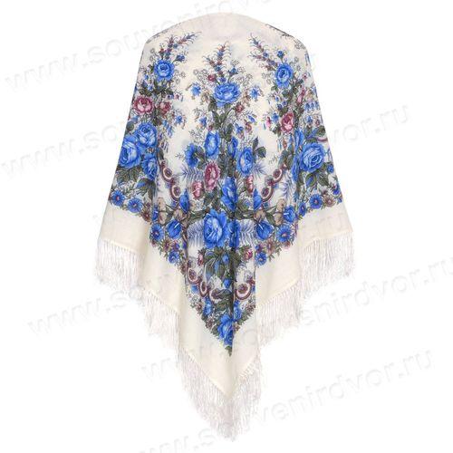 Павлопосадский платок в гардеробе современной модницы