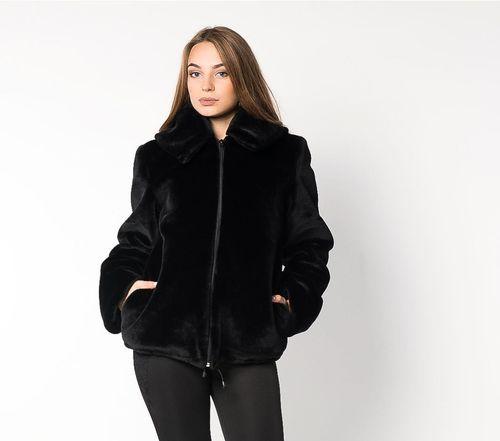Короткая шуба куртка