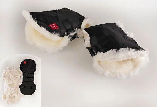Меховая муфта для рук Sheep Kaiser, черная