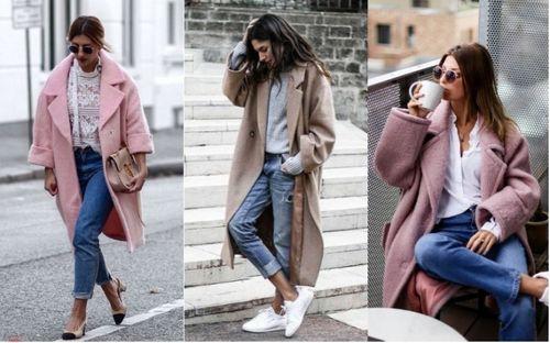 Пальто-оверсайз с укороченными рукавами