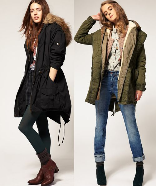 Женская куртка парка\