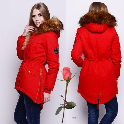 Женская куртка удлиненного кроя