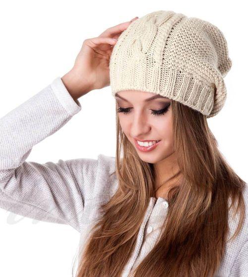 Шерстяная шапка из овчины