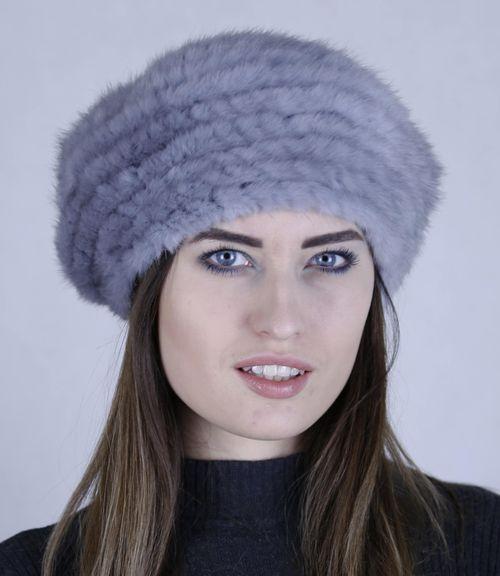 "Норковая шапка""Студентка"""