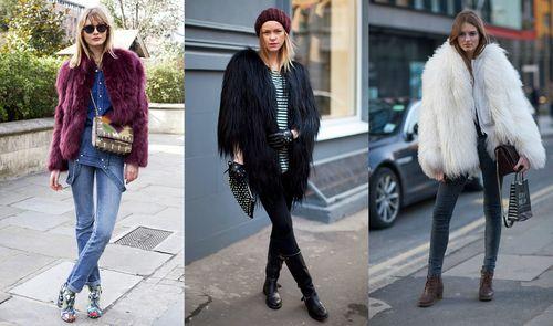 Модные эко-шубы