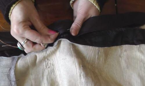 Пошив подкладки для шубы
