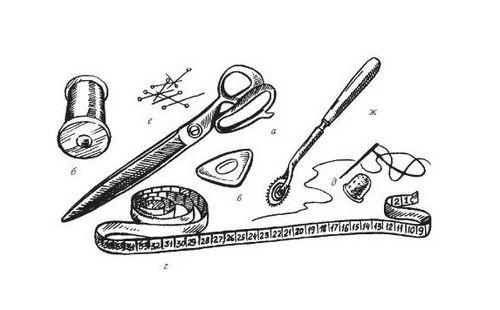 Необходимые материалы для шитья
